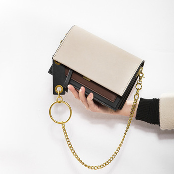 New Bag Women's New Fashion Small Square Bag  Shoulder Messenger Bag Women's Bag