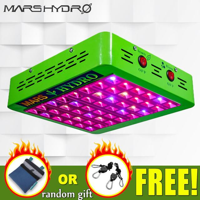 Mars Hydro Reflector 300W LED Grow Light Full Spectrum Veg/Bloom Switchable for All Indoor Plants and Flower Growing Phytolamp