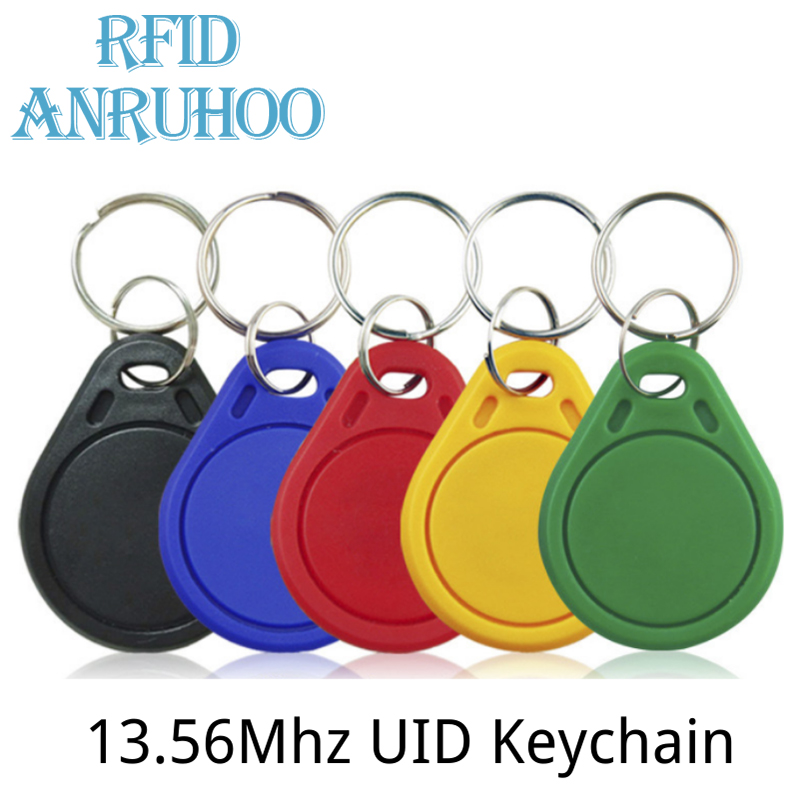 5/10PCS RIFD Smart Chip Card Copy 13.56Mhz Clone Tag ISO14443 1K S50 Key Fob 0 Sector Rewritable Badge IC-UID NFC Token