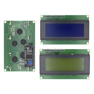 LCD2004+I2C 2004 20x4 2004A Blue/Green screen HD44780 Character LCD /w IIC/I2C Serial Interface Adapter Module for arduino(China)