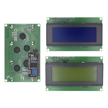 LCD2004 + I2C 2004 20x4 2004A 청색/녹색 화면 HD44780 문자 LCD/arduino 용 IIC/I2C 직렬 인터페이스 어댑터 모듈