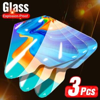 Перейти на Алиэкспресс и купить Закаленное стекло для Huawei P30 Lite P10 Plus P20 Pro P40, Защитное стекло для экрана Mate 20 Lite 10 Pro, 3 шт.