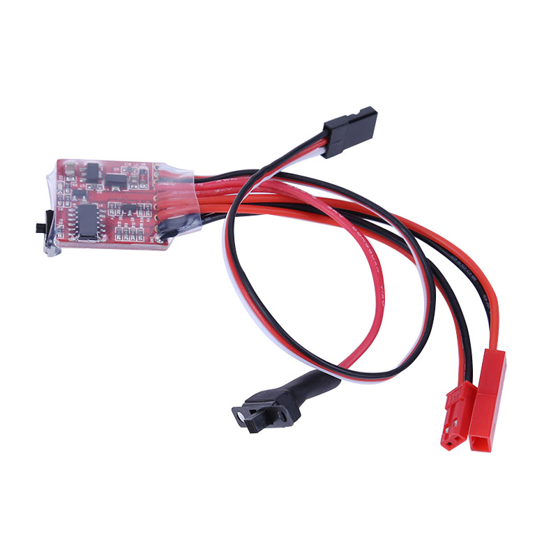 2KHz 20A ESC Auto Brush Motor Speed Controller With Brake For RC Car Boat Trucks _WK
