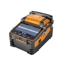 AI 9 Signal Fire Multi language Optical Fiber Fusion Splicer FTTH Fiber Splicing Machine With Optical Power Meter  VFL Function