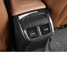 Lsrtw2017 Carbon Fiber Abs Car Rear Armrest Air Vent Frame for Buick Regal Opel Insignia 2018 2019 2020