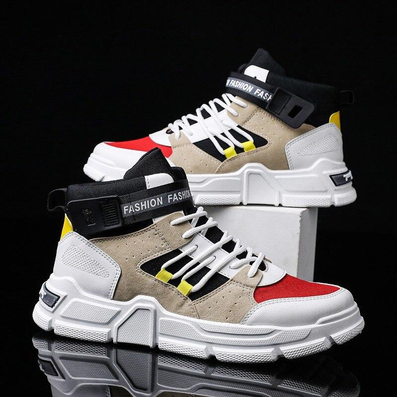 High Top Men Sport Shoes Trend Outdoor