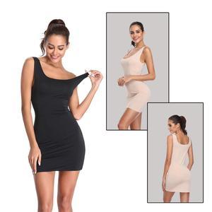 slimming underwear Waist Trainer Body Shaper for Women full-slip camisole dress Seam hip trainer woman slimming sheath shapewear(China)