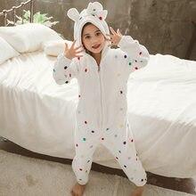 Детская пижама в горошек с капюшоном и рисунком для девочек; зимний фланелевый Халат для малышей; одеяло для малышей; Пижама; элегантный детский банный халат; 4-13