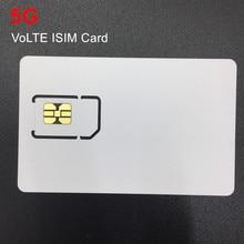 OYEITIMES Горячая новинка VoLTE ISIM карта 5G пустая мини нано микро записываемая программируемая ISIM карта для оператора Milenage алгоритм