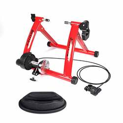 Bike Indoor Exercise Bike Trainer Home Training Magnetic Resistance Bicycle Road MTB Cycling Roller snow speed fat tire mountain
