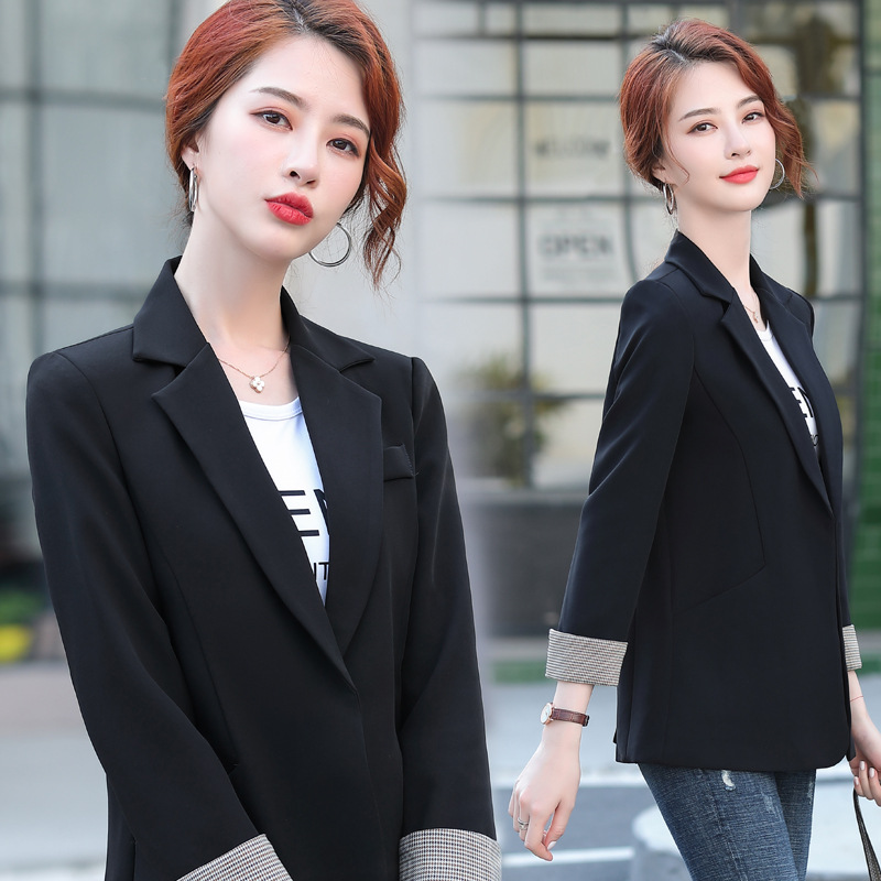 High quality large size S-4XL women's jacket office suit 2020 new autumn temperament ladies blazer Elegant professional jacket