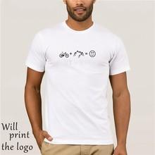 T Petit Haut Uomo Vélo montagne amore Giovanile Girocollo Manica corta VTT Vtt T-shirt Tempo Libero Adulto Divertente
