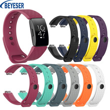 Soft Silicone Wristband Strap Bracelet For Fitbit Inspire HR/ ace2 Multi Colors Sport Smart watch Replacement Watch