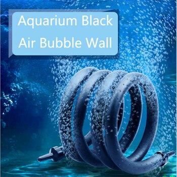 20cm/60cm/120cm Fish Tank Aquarium Air Stone Bubble Wall Aeration Soft Tube Hose Fish Tank Pump Hydroponic Oxygen Diffuser Tube 4 6mm aquarium air pump hose air bubble stone aquarium fish tank pond pump tube 1m 3m 5m 10m aquarium accessories hot sale