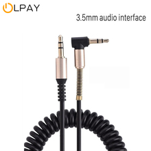 Cable de Audio extensible para coche, Cable auxiliar de 3,5mm para altavoz, MP3, MP4 y iPhone