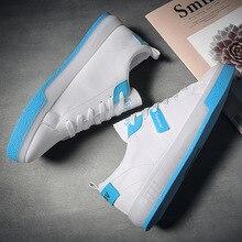 2020 yeni stil paten ayakkabı erkekler eğilim beyaz ayakkabı düşük üst jel ayakkabı bahar rahat ayakkabılar çok yönlü dış mekan ayakkabı erkek ayakkabısı