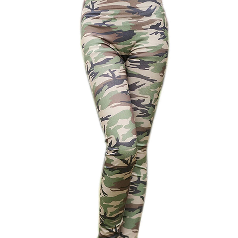 2019 New Fashion Sexy Womens Skinny Camouflage Punk Funky Leggings Stretchy Striped Pencil Pants Hot Sale Hottest