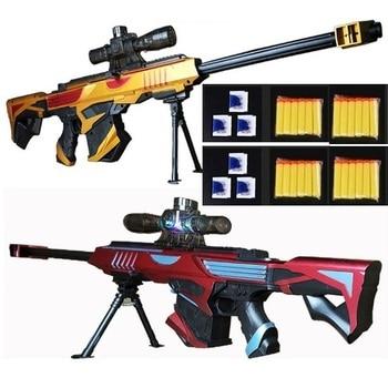 цены Toy Sniper Rifles, Laser Scope, With nerfs (Soft EVA Sucker Bullets) and Water Ball Bullets.