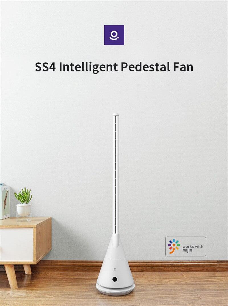 Rosou SS4 Intelligente Foglie Piedistallo Fan Norma Mijia APP di Controllo 11 velocità del vento Ventilatore della Famiglia con telecomando di controllo di Temporizzazione