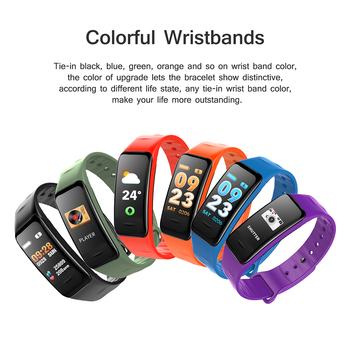 Fitness Bracelet C1S Smart Watch Waterproof Smart Bracelet Heart Rate Monitor Health Tracker bracelet For Sport PK Mi Band 4 1