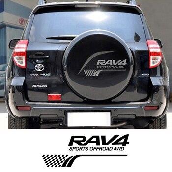 Car Stickers Auto Tail Spare Wheel Decoration...