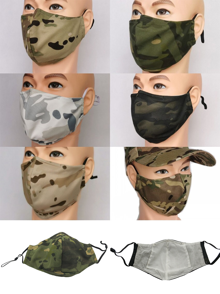 Mask Protective-Face-Mask Military Tactical Camouflage Brand Dustproof Breathable Outdoor