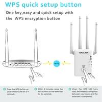 dual band אנטנה טווח Wi-Fi ב -5 Ghz משחזר Wifi נתב אלחוטי AC1200 Dual-Band המאריך נקודת גישה Booster WiFi 1200Mbps גבוהה שבח אנטנה (4)