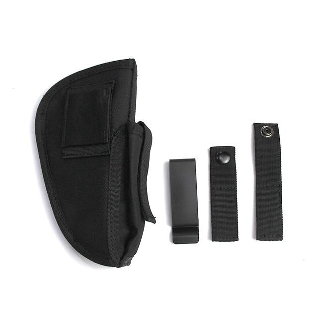 Right Left Hand Gun Holster Concealed Airsoft Pistol Holster for Glock Colt1911 Beretta M9 P226 Pistol Gun Case Magazine Bag 4
