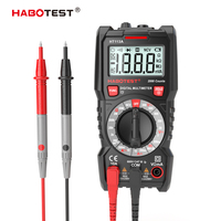 Habotest HT113A digital mini multimeter tester profesional transistor tester multitester multi meter|Multimeters| |  -