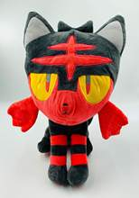 Pokemon Litten Boneka Lembut Mewah Boneka Mainan 380Mm Pokemon Go Anime Litten Angka Mainan Figurine(China)
