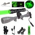 300 Yards vert/rouge Zoomable arme lumière tactique Airsoft pistolet Armas lampe de poche prédateur traumatisme extérieur nuit chasse torche