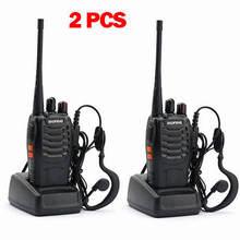 """2 шт baofeng bf 888s иди и болтай walkie talkie """"иди 5 Вт ручной"""