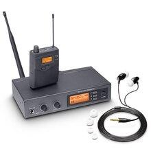Pasgao PR90 สเตอริโอ In EAR Monitor ระบบระบบจอภาพไร้สายน้ำหนักเบาและขนาดเล็กขนาด 655 679MHZ