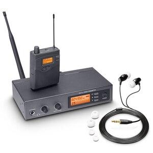 Image 1 - Pasgao PR90 Sistema de monitor intrauditivo estéreo, sistema de monitor inalámbrico, tamaño ligero y pequeño, 655 679MHZ