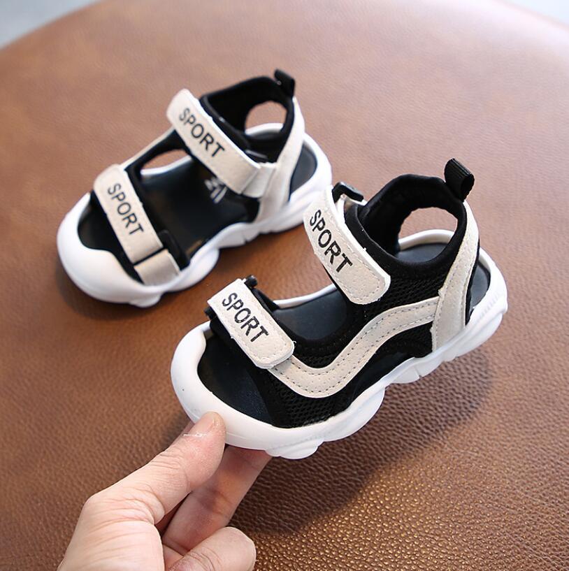 Sport Letter Summer Mesh Sandals 3