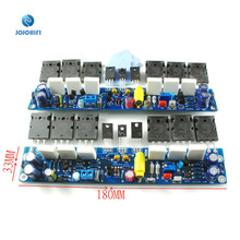 One Pair (2pcs) L10 Class AB 4R 2 Channel Dual Channel Transistor A1930 C5171 BC546B Amplifier Amp Power Board Finished Board