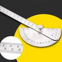 Measuring-Ruler 180-Degree Protractor Round-Head-Caliper Precision-Instrument Adjustable