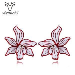 Viennois Blue/ Red Flower Enam