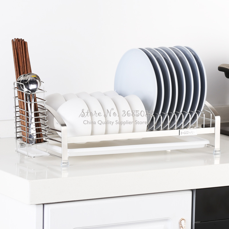For Sell Thickening Stainless Steel Drying Racks Drain Rack Dishes Dishes Cutlery Storage Kitchen Racks