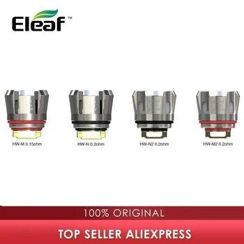 5pcs Original Eleaf HW Coil 0.15ohm HW-M/0.2ohm HW-N Coil For Ello Duro/Ello Vate/iStick Pico S/iJust 3 Coil E Cigarette