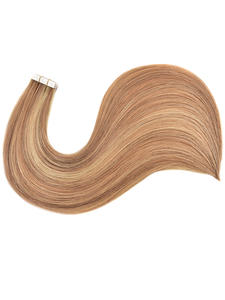 Alishow Human-Hair-Extensions Skin-Weft Pu-Tape Remy Double-Drawn Invisible Straight