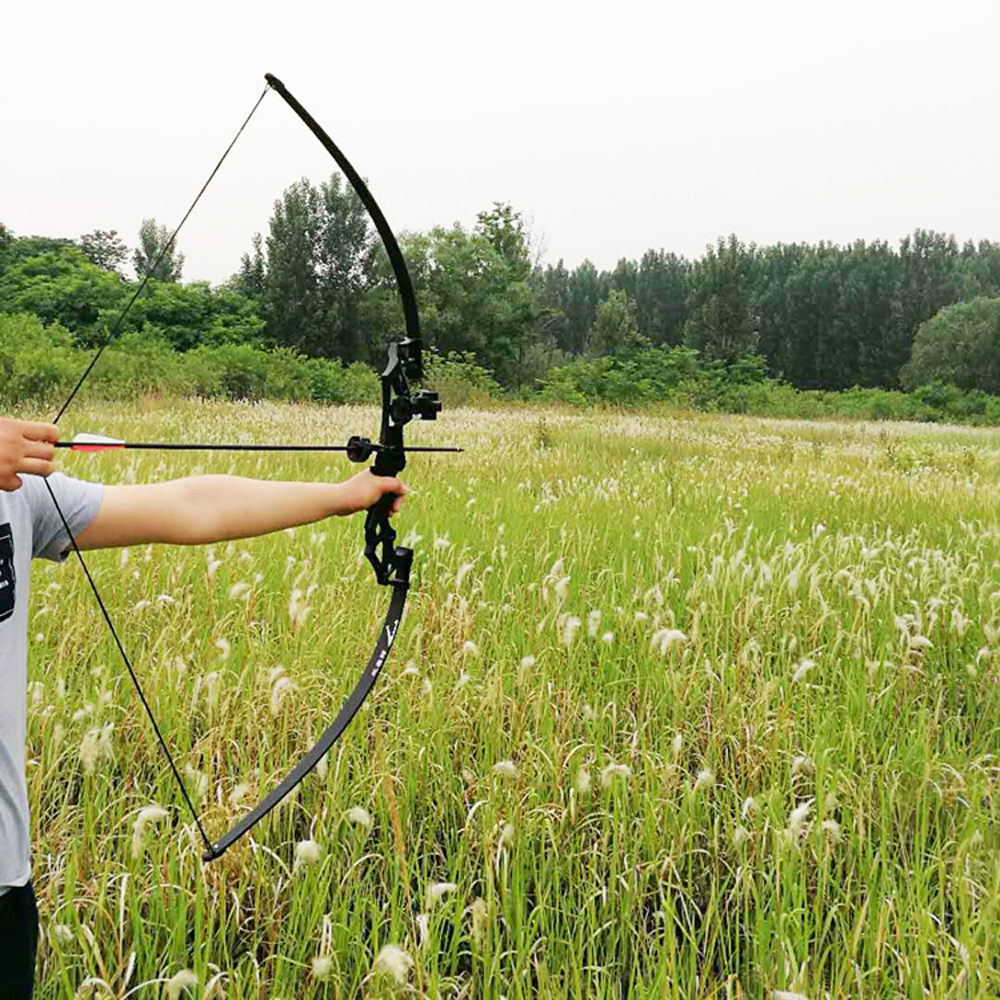 30-50lbs Professional Recurve Bow Powerful Hunting Archery Bow Arrow  Straight Bow Outdoor Hunting Shooting Sports High-quality