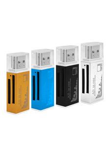 Card-Reader Etc Aluminum-Alloy Portable High-Speed M2 PRO 4-In-1 Usb-2.0 Shell Lighter-Shape