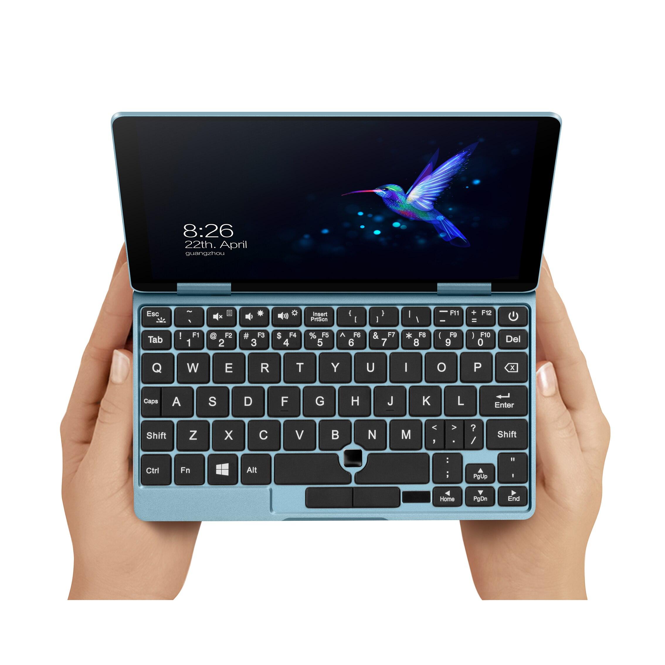 Нетбук One Mix 1S +, карманный ноутбук для йоги, Intel Core, мини-ПК с диагональю 7 дюймов, IPS 1920*1200, сенсорный экран, Win10, 8 Гб ОЗУ, 256 ГБ SSD
