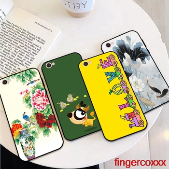 Coxxx-Girl 2 Soft TPU Case Cover For Vivo Y71 Y83 Y81 Y51 Y93 Y97 Y91 Y95 V11i Z3i Z3 X21UD Z5X X27 V15 S1 Pro image