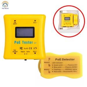 Image 5 - PoE Tester כיס בגודל PoE גלאי צרור Inline PoE מתח & הנוכחי בוחן PoE גלאי להתקנת טלוויזיה במעגל סגור