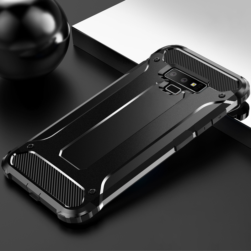 Rugged Armor Case For Samsung Galaxy S10 S9 S8 S6 S7 Edge Note 10 8 9 Plus M10 M20 M30 M03S Case Cover TPU Protective Bumper