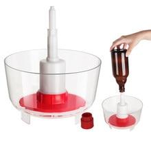 Wino Rinser piwa butelka podkładka sterylizator Adapter na domowe warzenie laboratorium Bar kuchnia czyszczenie butelek obrabiarek