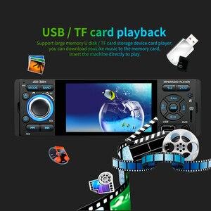 Image 4 - LTBFM Autoradio 1 الدين راديو السيارة JSD 3001 4.1 MP5 سيارة لاعب شاشة تعمل باللمس سيارة ستيريو بلوتوث 1Din راديو تلقائي كاميرا مرآة وصلة