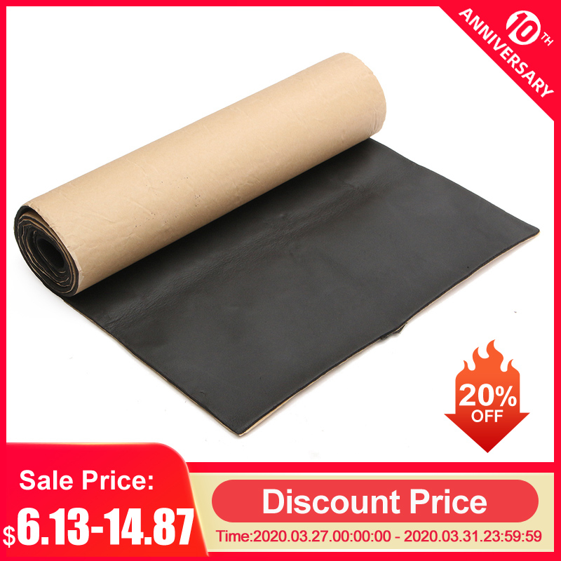 1Roll 200cmx50cm 3mm/6mm/10mm Car Sound Proofing Deadening Car Truck Anti-noise Sound Insulation Cotton Heat Closed Cell Foam